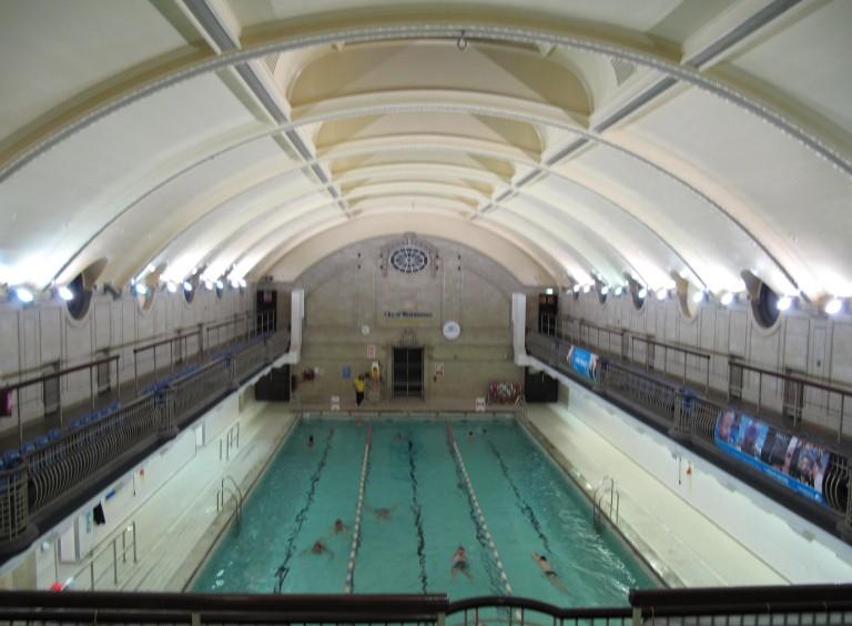 porchester centre pool