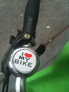 I heart my bike bike bell