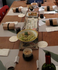 Ironman Kona Dinner Table
